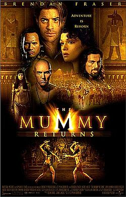 Promotional poster for The Mummy Returns