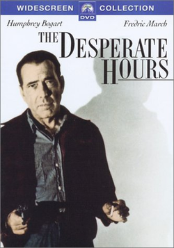 The Desperate Hours (1955) DVD cover
