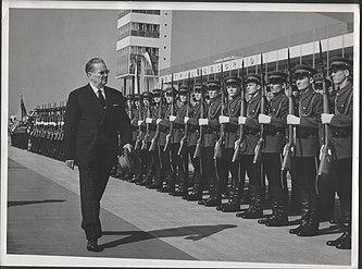 Stevan Kragujevic, Tito i gardisti
