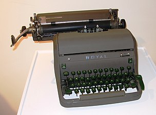 Pisaća mašina Royal