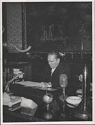Stevan Kragujevic, Tito, kabinet, 1959