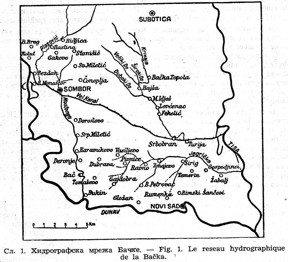 Три бачке долине Криваја, Јегричка и Мостонга