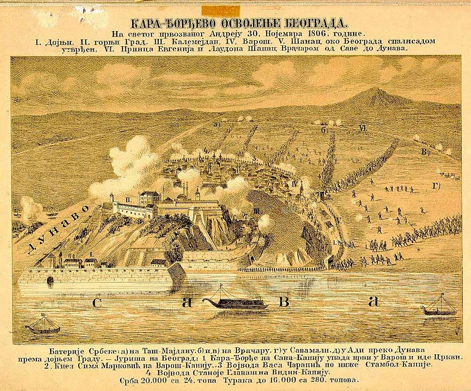 Karađorđevo osvajanje Beograda 1806. godine