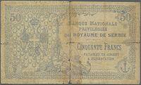 50 динара 1914. друга страна