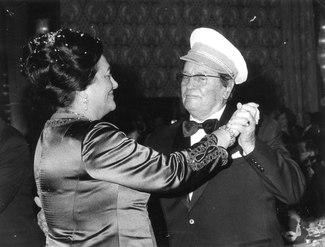 Stevan Kragujeivci, Tito i Jovanka Broz, novogodisnji ples, sezdesetih