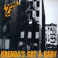 """Brenda's Got a Baby"" cover"
