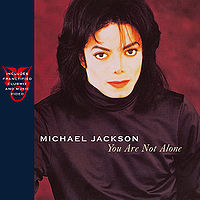 """You Are Not Alone"" cover"