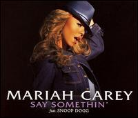 """Say Somethin'"" cover"