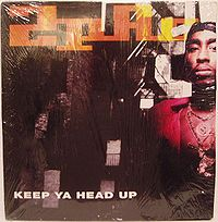 """Keep Ya Head Up"" cover"