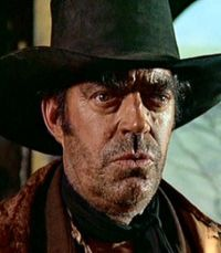 Jack Elam katika filamu ya Once Upon a Time in the West (1968)
