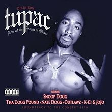 Tupac: Live at the House of Blues Cover