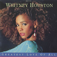 """The Greatest Love of All"" cover"