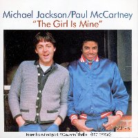 """The Girl Is Mine"" cover"