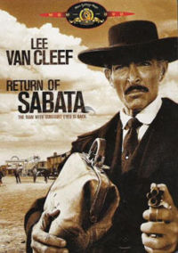 Kasha ya DVD ya Return of Sabata.