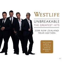 Unbreakable: 2008 NZ Tour Edition Cover