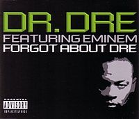 """Forgot About Dre"" cover"