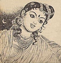 Ponniyin selvan paintings nandani.jpg