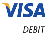 The current Visa Debit logo