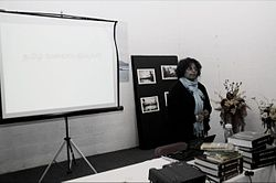 Mathy at Jan 2011 Toronto taWiki Workshop.JPG