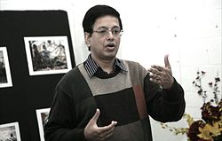 Venkat at Jan 2011 Toronto taWiki Workshop 2.JPG