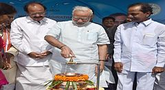 PM launches first phase of Mission Bhagiratha.jpg