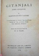 Gitanjali title page Rabindranath Tagore.jpg