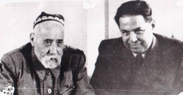 С. Айнӣ ва Б. Ғафуров