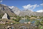 Tajikistan, Fann Mountains- Kulikalon lakes.jpg