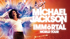 Michael Jackson: The Immortal World Tour logo/brand