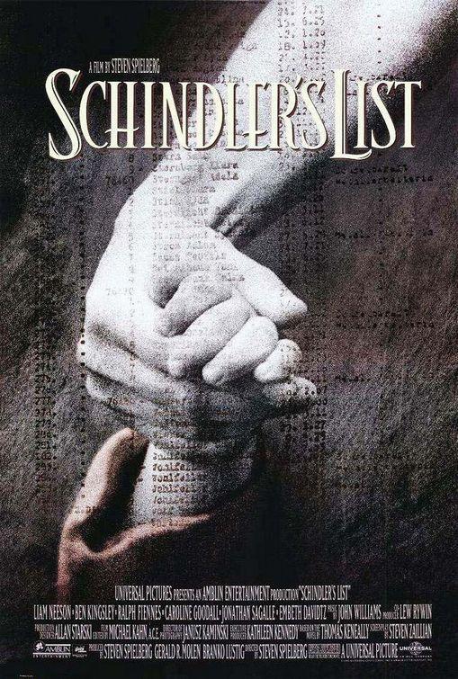 ผลการค้นหารูปภาพสำหรับ Schindler's List (1993)
