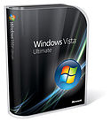 Windows Vista Ultimate Box