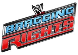 Bragging Rights 2010 logo, which incorporates the logos of SmackDown, Raw and the Nexus