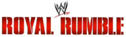 The Royal Rumble Logo.