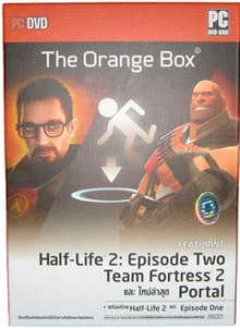 The cover of The Orange Box