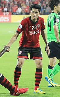 Piyapon with Muangthong United in 2013.jpg