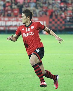 Mongkol with Muangthong United in 2013.jpg