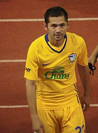 Narongchai with Thailand Football.jpg