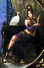 Art Work Zhen Ji ใน Dynasty Warriors 5