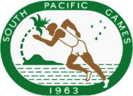 1963 South Pacific Games logo.png