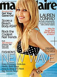 Lauren Conrad on the July 2013 cover