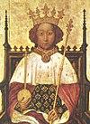 พระสาทิสลักษณ์ของสมเด็จพระเจ้าริชาร์ดที่ 2 วาดโดยอังเดร บัวเนโว (André Beauneveu) ในทศวรรษที่ 1390