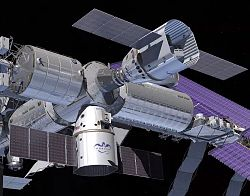 Manned and cargo Drago spacecraft (artist's impression)