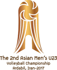 2017 Asian Men's U23 Volleyball Championship logo.png