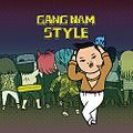 This is the Front Cover for the CD single Gangnam Style by the artist PSY.jpg