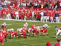 อเมริกันฟุตบอล เป็นกีฬาที่นิยมมากที่สุดในสหรัฐอเมริกา
