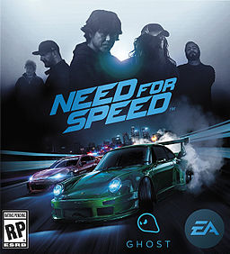 North American standard cover art. People above the logo starting from left: Shinichi Morohoshi, Ken Block, Akira Nakai, Magnus Walker, and the leader of Risky Devil. Modified vehicles below the logo: Porsche 911 Carrera RSR 2.8 (center) and Subaru BRZ (left).