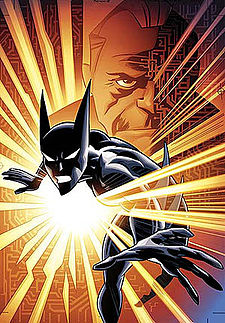 Cover to Batman Beyond #9