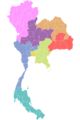 Map TH provinces by electoral2007.png