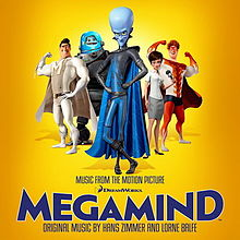 Megamind: Music from the Motion Picture cover
