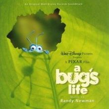 A Bug's Life: An Original Walt Disney Records Soundtrack cover